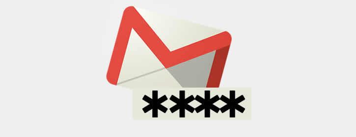 Mudar senha da conta Gmail