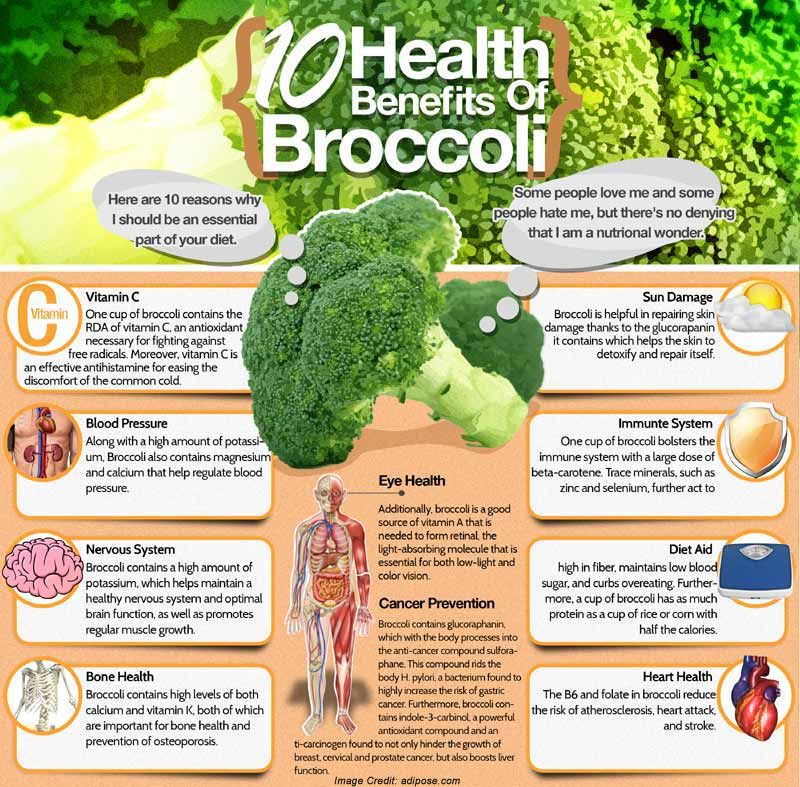 Advantages of Eating Broccoli