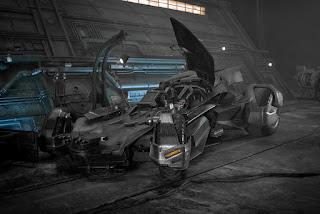 Justice League new Batmobile