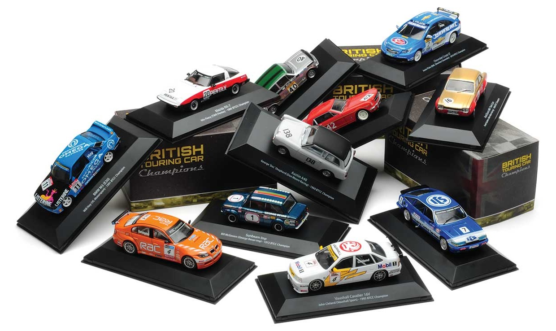 British Touring Cars Atlas Editions. campeones Escala 1//43
