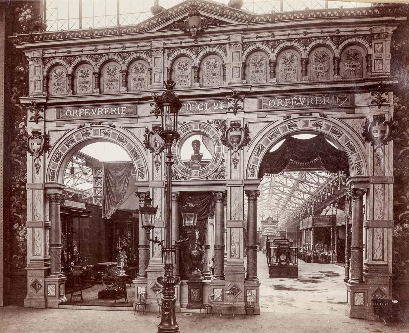 The pavilion of goldsmithery.