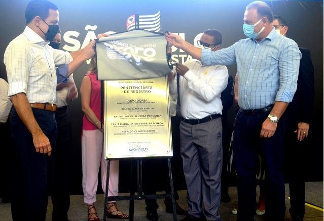 Penitenciária de Registro-SP é inaugurada pelo Governo de São Paulo