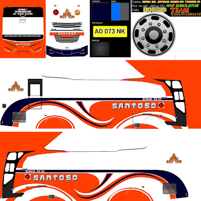 livery bus santoso