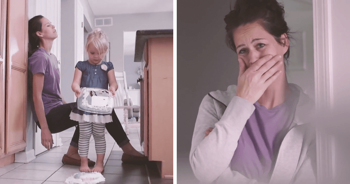 A Normal Day: Emotionally Powerful Video Showing A Mom Through Her Kid's Eyes