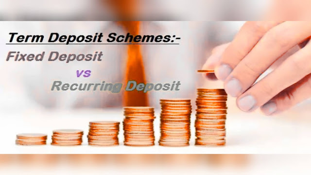 Fixed Deposit vs. Recurring Deposit  2022- Which one should You Choose?