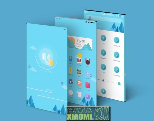 MIUI Theme Pegatron Material Mtz [DD] [V8 Theme] For Xiaomi