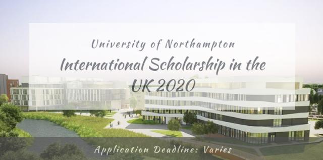 منحة جامعة نورثهامبتون الدولية في المملكة المتحدة لدراسة  البكالوريوس والدراسات العليا 2020