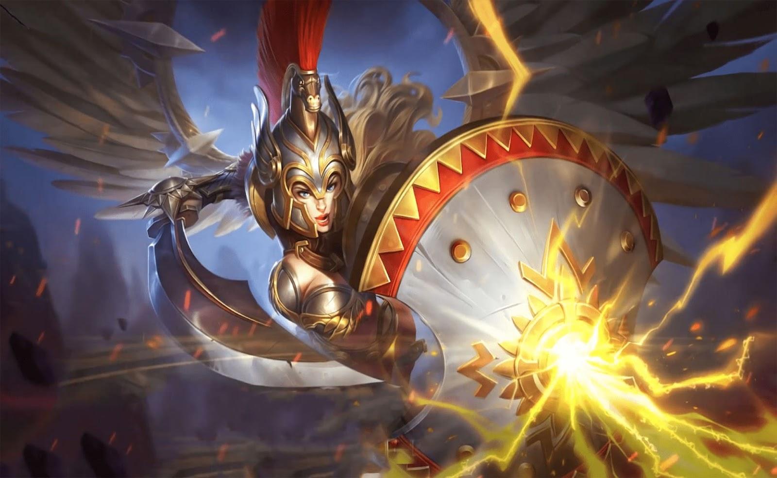 Wallpaper Freya Gladiator Skin Mobile Legends HD for PC