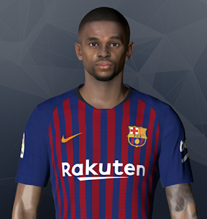 PES 2017 Faces Nelson Semedo by Ben Hossam FaceMaker