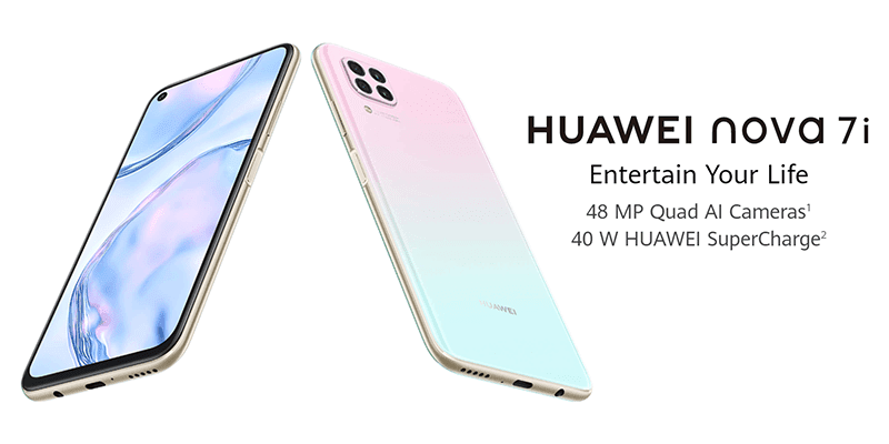 Huawei Nova 7i with punch-hole, 7nm Kirin 810, and 40W SuperCharge now official!