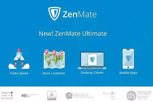 التسجيل Zenmate