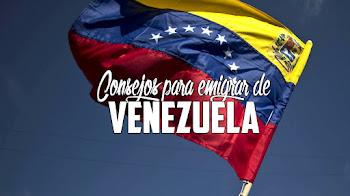 Consejos para emigrar desde Venezuela