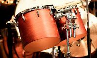 Pair of tom tom drums