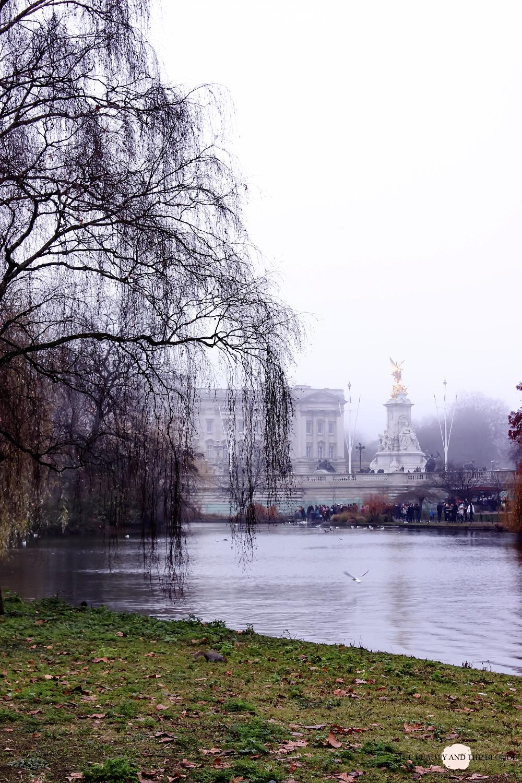St. James Park London Buckingham Palace