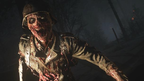 Aluvión de información del modo zombie de Call of Duty WWII
