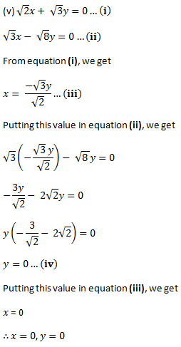NCERT Class 10 solution - Pairs of Linear Equations in Two Variables 2