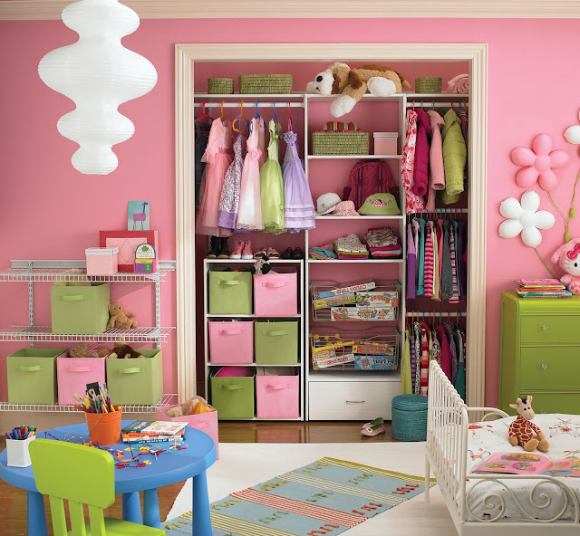 anak pastinya dipenuhi dengan permainan dan imajinasi Dekorasi Unik Kamar Tidur Anak-anak