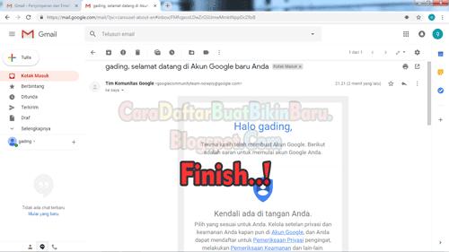 Contoh Cara Membuat Email Gmail Di Laptop Beserta Gambar Terbaru Cara Daftar Buat Bikin Baru
