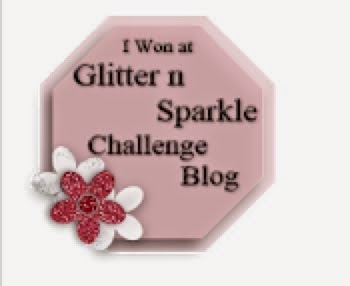 I won a challenge at Glitter n Sparkle
