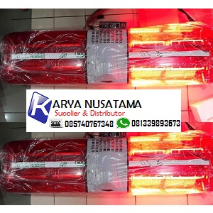 Jual Emergency Lamp Ambulan Merah LED Buzzer Kedip di Ambon