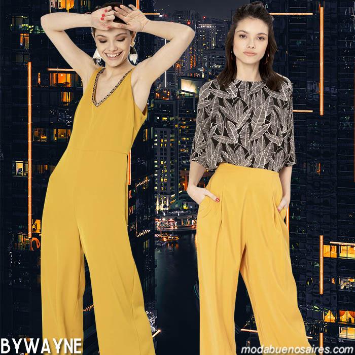 Monos y blusas primavera verano 2020 moda mujer.