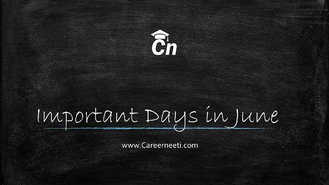 Important Days in June, www.careerneeti.com, Careerneeti Logo