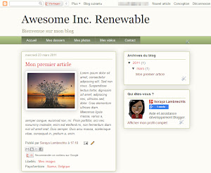 Awesome Inc. Renewable Theme