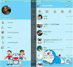 BBM Mod Doraemon Versi Terbaru 3.0.1.25 Apk