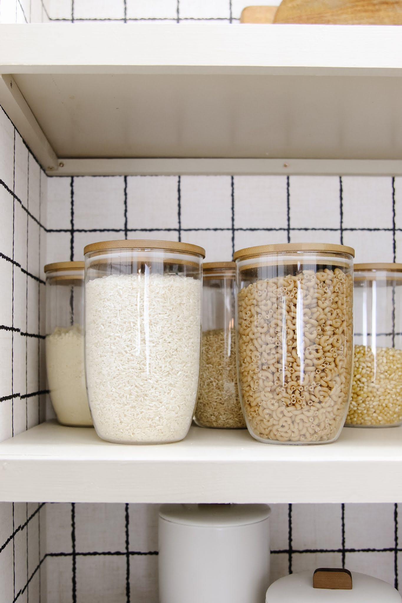 How to create an organized, practical, and pretty pantry plus a before and after you won't believe!