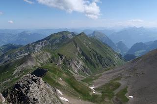Aussicht vom Brisen, Schweiz