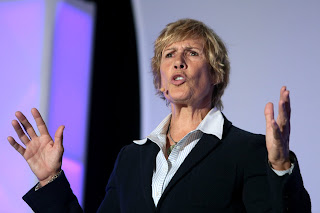 Diana Nyad, pictured earlier this year at a sports psychology conference in Phoenix