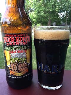 Mad River Brewers Secret Vanilla Barrel Porter 1