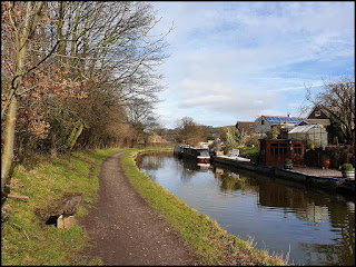 Macclesfield Canal in Bollington