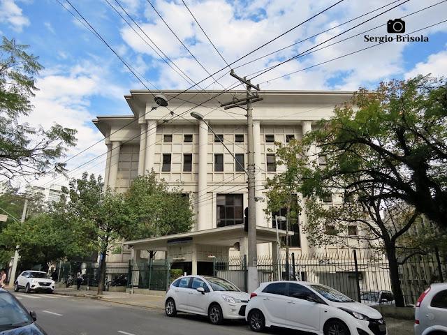 Vista de parte do complexo da Fundação Armando Alvares Penteado - FAAP - Higienópolis - São Paulo