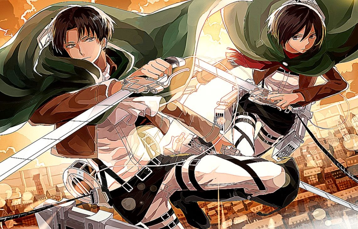 Levi And Mikase Ackerman Hd Wallpaper | Best Wallpapers