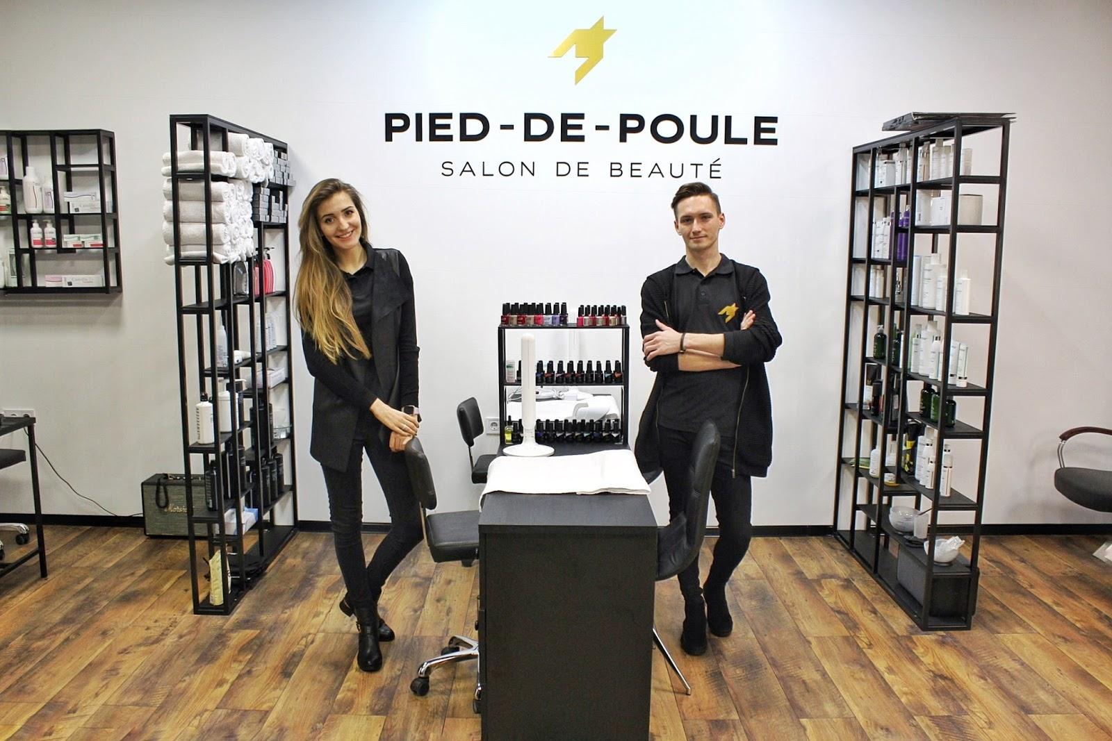 салон красоты Pied-De-Poule, укладка, маникюр, Olaplex, La Biosthetiqe