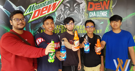 Dew Challenge 2017 Amateur Tournament Continues in Kuala Lumpur
