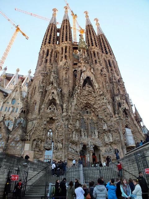 Sagrada Familia imprescindible en Barcelona
