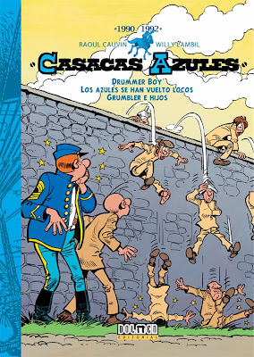 Casacas Azules. 1990-1992 (Integral nº 11) - Raoul Cauvin / Willy Lambil