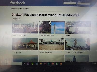 Cara Membuka Marketplace Facebook Terblokir