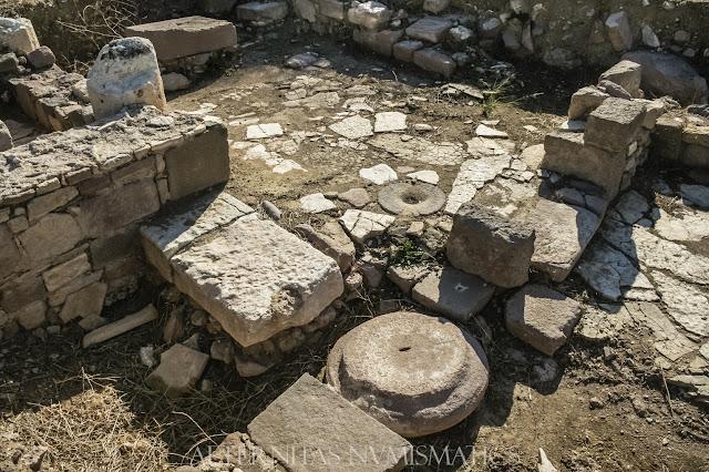 Vistas de la domus romana de Ildiri