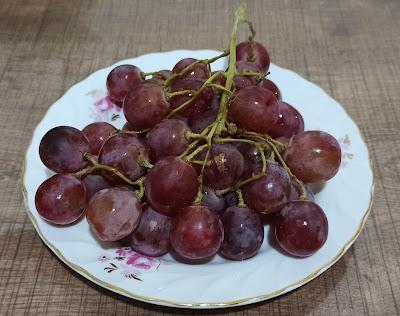 Red Globe Üzüm - Kırmızı Üzüm Meyvesi