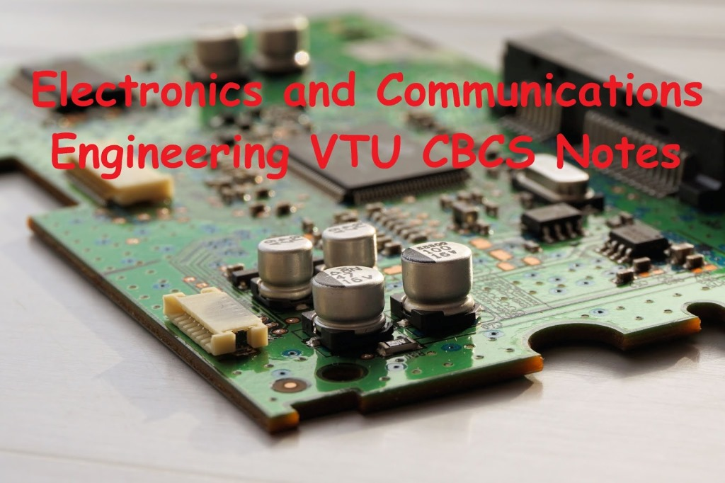 Electronics and Communications Engineering Notes - VTUPulse