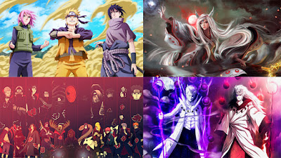100 Gambar Wallpaper Naruto HD Untuk PC, Komputer, Laptop
