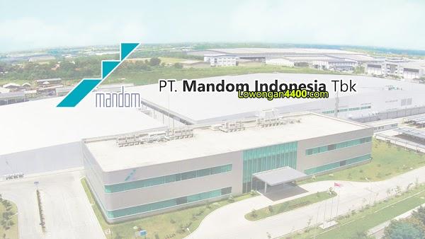 Lowongan Kerja PT. Mandom Indonesia Tbk Kawasan Industri MM2100