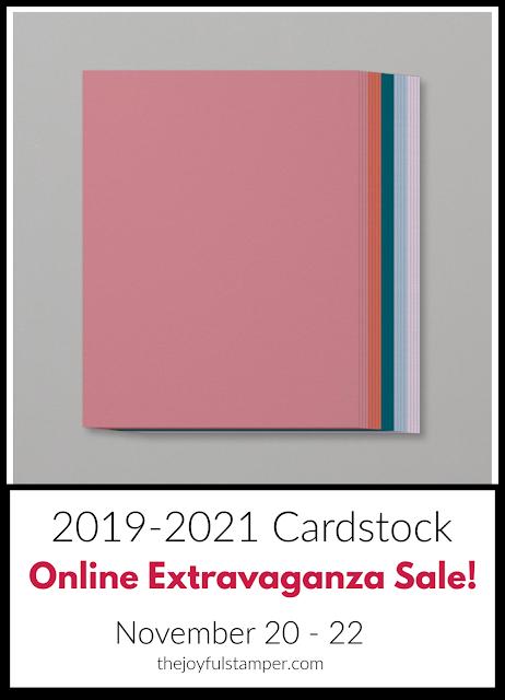 2019-2021 In Color cardstock - Online Extravaganza Sale