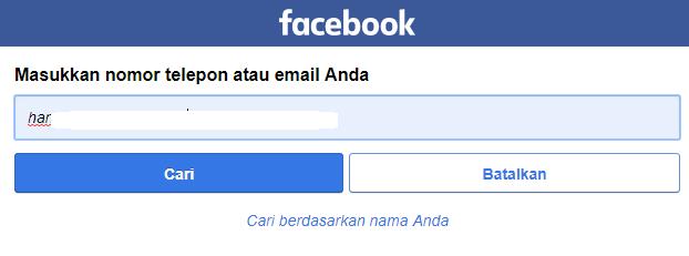 cari teman facebook melalui nomor hp