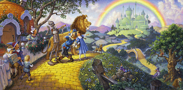 wizard of oz landscape scott gustafson