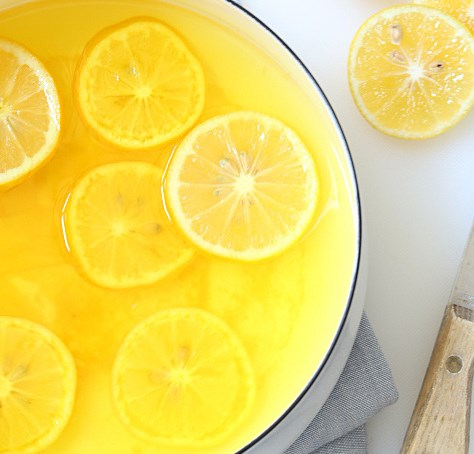 LEMON GINGER MORNING DETOX DRINK #healthydrinks #detox