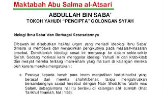 """Download Gratis Ebook """"Abdullah Bin Saba Tokoh Yahudi Pencipta Agama Syiah"""""""